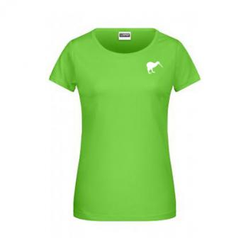 Kiwi T-Shirt - Damen - Basic - grün